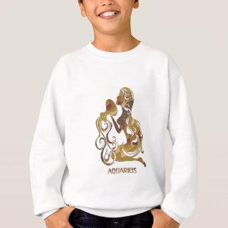 Wassermann-Wasser-Träger-Tierkreis-Symbol Sweatshirt