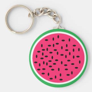 Wassermelone Keychain Standard Runder Schlüsselanhänger
