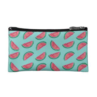 Wassermelone-Muster Kosmetiktasche