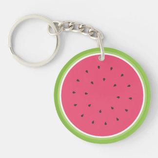 Wassermelone Schlüsselanhänger