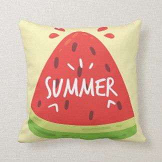 Wassermelone-Sommer Kissen