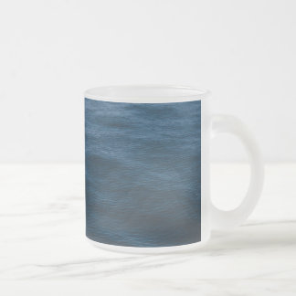 Wasserwellen Matte Glastasse