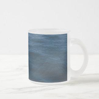 Wasserwellen Mattglastasse