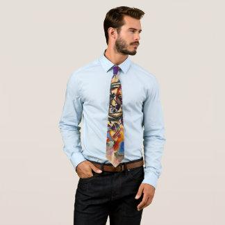 Wassily Kandinsky - abstrakte Kunst der Personalisierte Krawatten