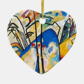 Wassily Kandinsky Zusammensetzung vier - abstrakte Keramik Ornament