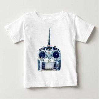 Wässriger blauer Spektrum RC Radio Baby T-shirt