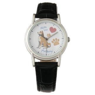 Watch Akita Inu Damen Armbanduhr