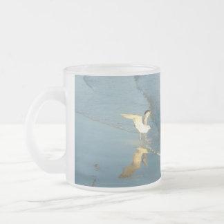 Waten der Möven-Tasse Matte Glastasse