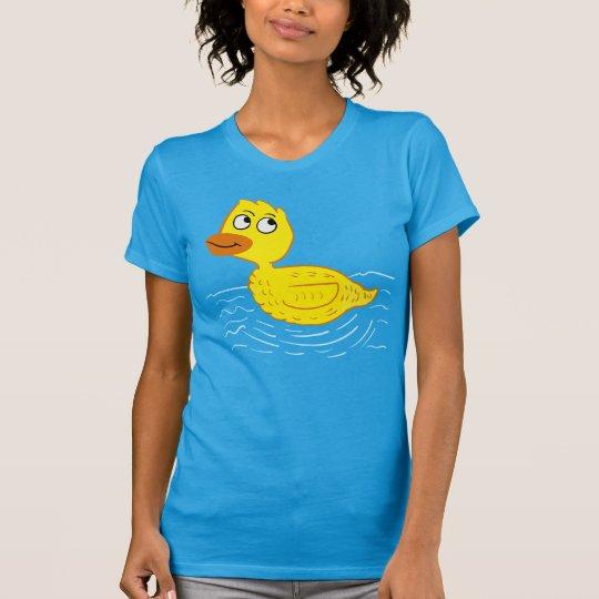 Waten des Ducky GummiCartoon T-Shirt