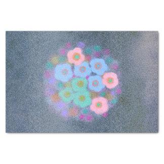 Watercolor-abstraktes strukturiertes mit seidenpapier