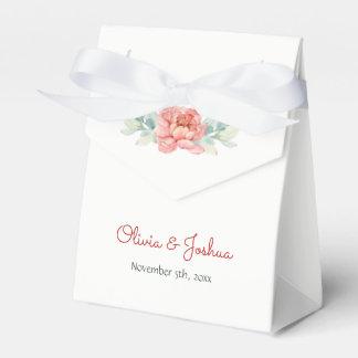 Watercolor-Blumen-Gastgeschenk Hochzeits-Kästen Geschenkschachtel