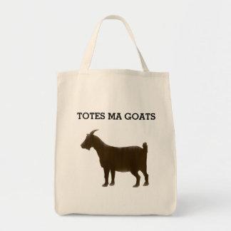 Watercolor-Brown-Taschen-MA-Ziegen-Tasche Einkaufstasche