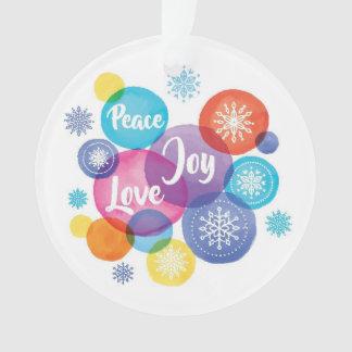 Watercolor des Weihnachten| - Ornament