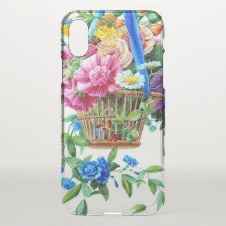Watercolor Girly niedlicher offenbar Blumeniphone iPhone X Hülle