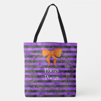 Watercolor-Halloween-Streifen winden Tasche