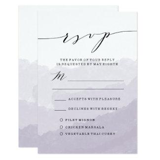 Watercolor-Nebel | Wedding UAWG Karte