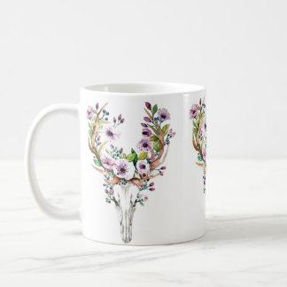 Watercolor-Stier-Tasse Kaffeetasse