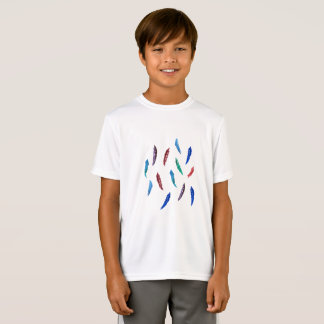 Watercolor versieht der Sport-T - Shirt der Kinder