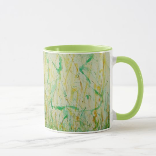 Watercolorentwurf Tasse