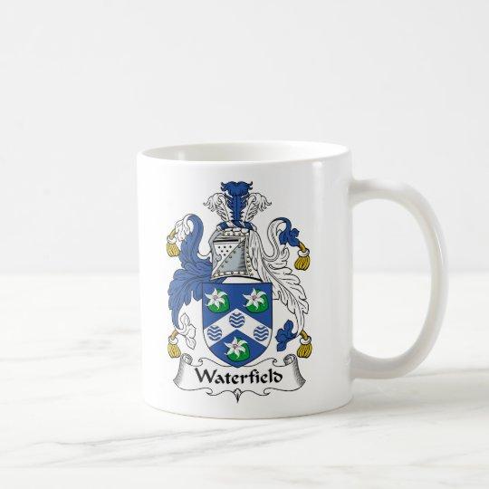 Waterfield Familienwappen Tasse