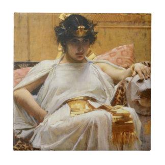 Waterhouse-Kleopatra-Fliese Kleine Quadratische Fliese