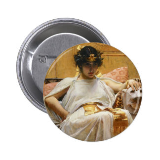 Waterhouse-Kleopatra-Knopf Runder Button 5,1 Cm