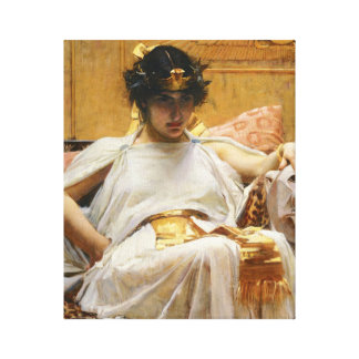 Waterhouse-Kleopatra-Leinwand-Druck Gespannte Galeriedrucke