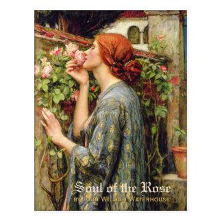 Waterhouse-Soul des RoseCC0738 Pre-Raphaelite Postkarte