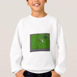 WateringCanTrimmersOnGrass112611 Sweatshirt