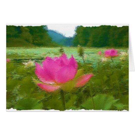 waterlillies karte