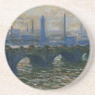 Waterloo-Brücke durch Claude Monet Untersetzer