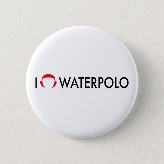 waterpolo runder button 5,7 cm