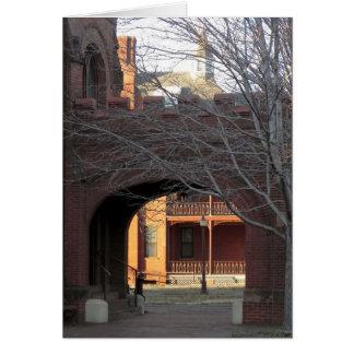 Watt Kapellen-in Richmond, Virginia Grußkarte