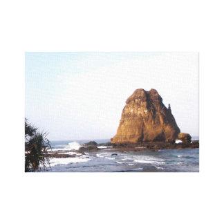 Watu Ulo Strand Gespannter Galeriedruck