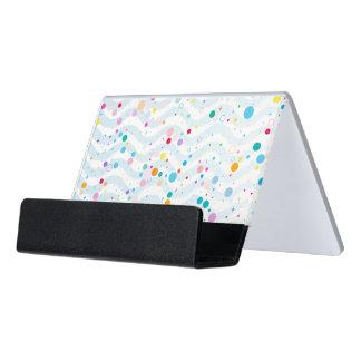 Waves1 - SchreibtischKartenhalter Schreibtisch-Visitenkartenhalter