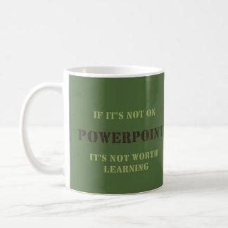WDYHC No9, Powerpoint Kaffeetasse