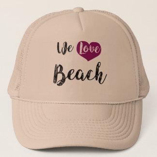 """We love Beach "" Truckerkappe"