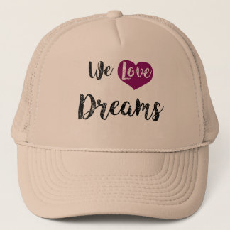 """We love Dreams "" Retrokult Cap"