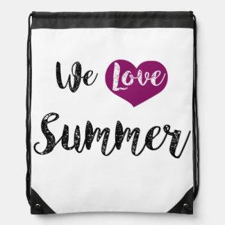 """""""We love Summer """" Turnbeutel"""