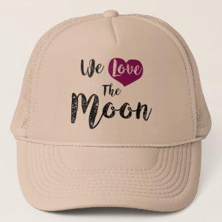 """We love the Moon "" Truckerkappe"