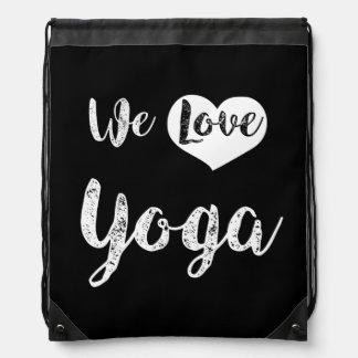 """We love Yoga "" Turnbeutel"