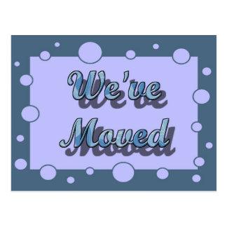 We' VE befördert Postkarte