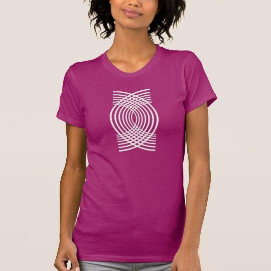 Webart-Muster T-Shirt