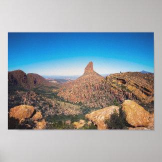 Weber-Nadel - Arizona-Landschaft| Plakat