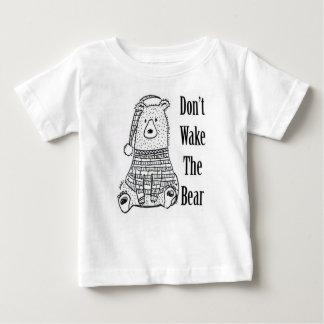 Wecken Sie nicht den Bären Baby T-shirt