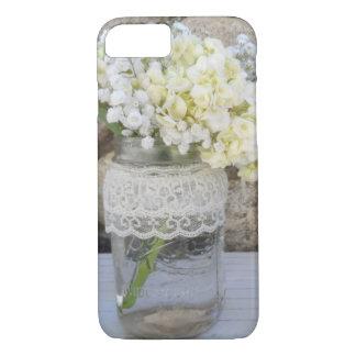Weckglas-Blumenstrauß iPhone 7 Hülle
