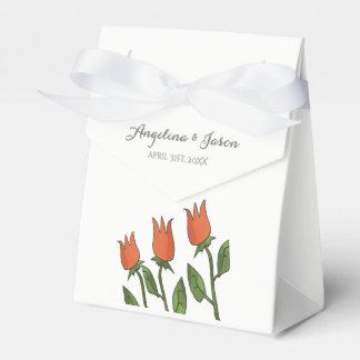 Wedding BlumenAquarell-Frühlings-helles Geschenkschachtel