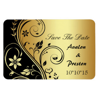 Wedding BlumenSave the Date Magnet