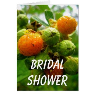 Wedding Bush-Knospen Karte