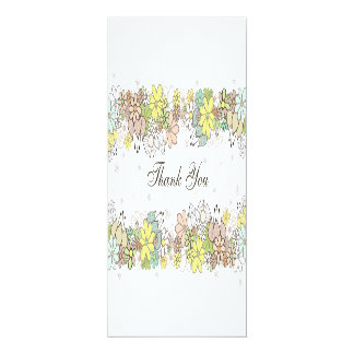 Wedding danken Ihnen 10,2 X 23,5 Cm Einladungskarte